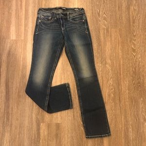 NWT - Express Brand Barely Bootcut jeans - 4R